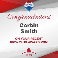 Corbin Smith awarded 100% Club